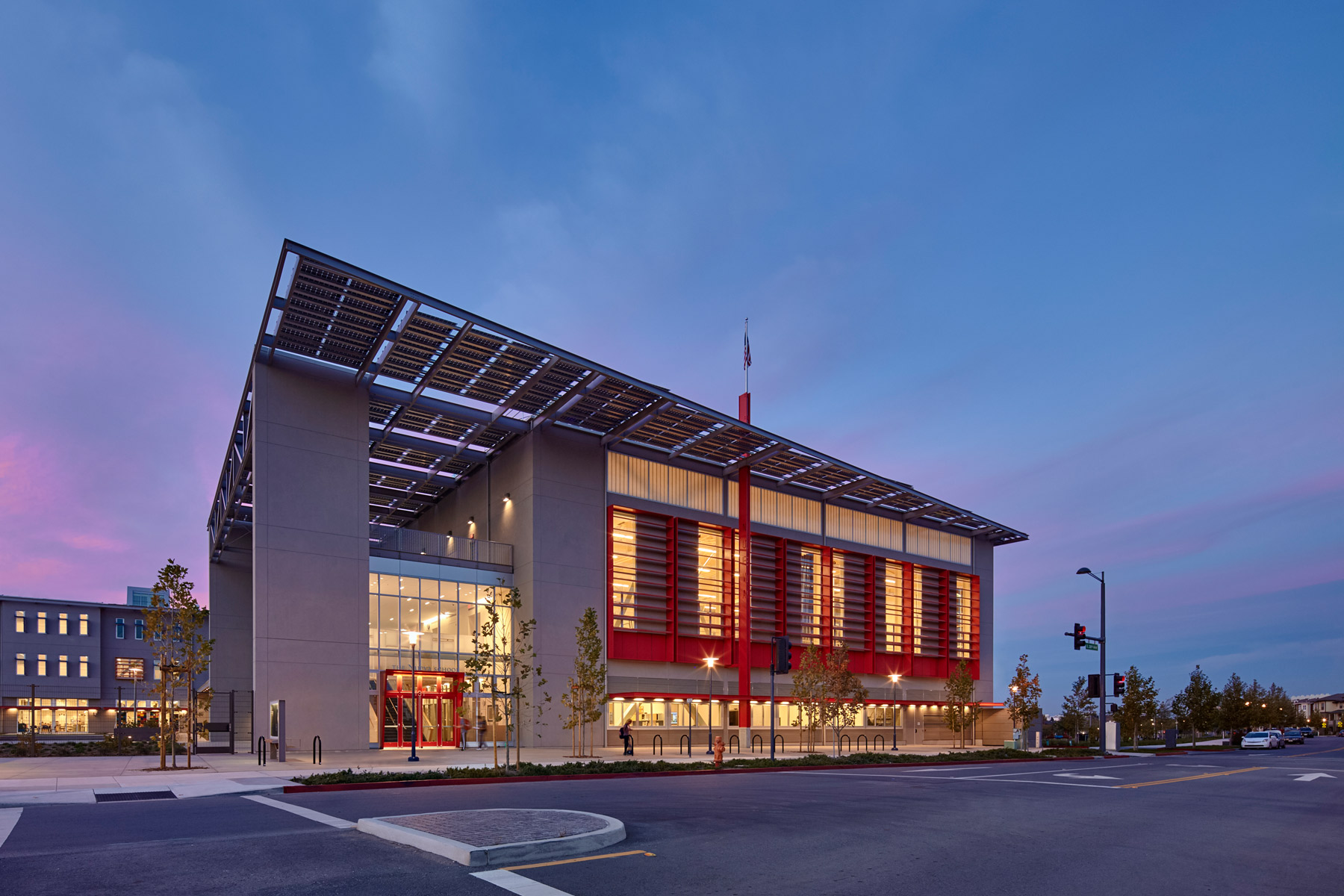 The Nueva School at Bay Meadows is a nationally-recognized sustainable model for innovative educational environments for 21st century learners located in the San Francisco Bay Area; the campus is certified LEED Gold.