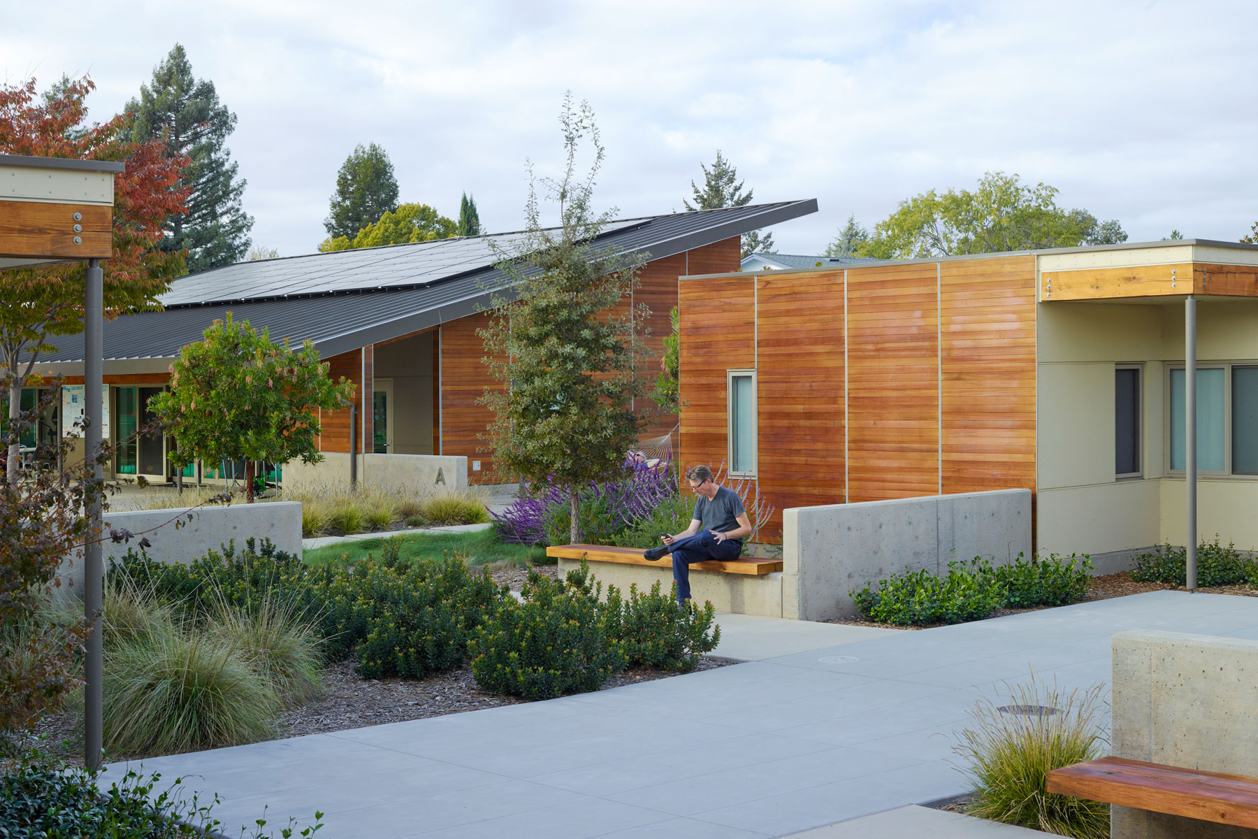 The Sweetwater Spectrum Community is a nationally-recognized, net-zero energy model of housing for adults with autism in the San Francisco Bay Area.