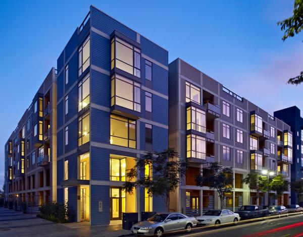 Mission Walk is the first sustainable, affordable housing development in the Mission Bay neighborhood of San Francisco, achieving a LEED Silver rating.