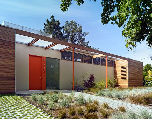 This private residence on Vai Avenue in Cupertino is a model of exemplary single family living for the 21st century through an aggressive sustainability agenda; the home is certified LEED Platinum and is net-zero energy/carbon neutral.