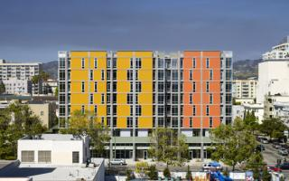 The Madison at 14th Street Apartments in Oakland provides affordable housing and supportive services for low-income families and youth at risk of homelessness.